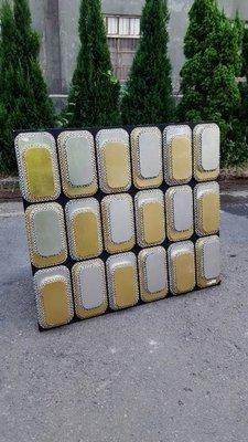 彰化二手貨中心(原線東路二手貨) ---  全新庫存NG品 重金屬設計壁框 造型藝術畫