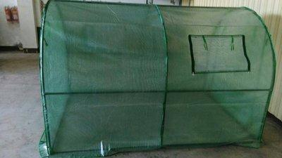 第二、三代鍍鋅溫室 支架加強版 兩種規格 全螺絲固定【鍍鋅】超粗25mm管徑 隧道式溫室