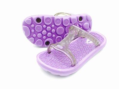 DL 夜光系列 海灘拖鞋/涼鞋 GLISTEN-S 運動標準款/繽紛紫