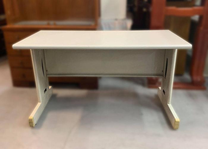 【宏品二手家具館】 台中中古傢俱賣場 *C92001*白面OA辦公桌* 會議桌 書桌 電腦桌 辦公家具 辦公設備