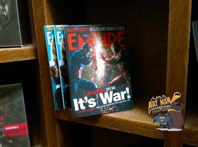 [熊拍賣] 1/6『美隊三對決雜誌』 模型 雜誌 美國隊長三美隊3內戰Civil War