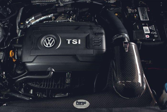 德朋國際 /FORGE 碳纖維 進氣套件 Volkswagen NewTiguan 實裝