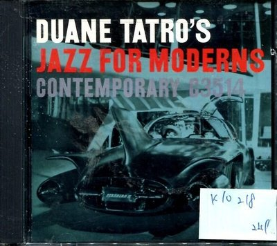 *真音樂* DUANE TATRO'S / JAZZ FOR MODERNS 二手 K10218(下標賣2)