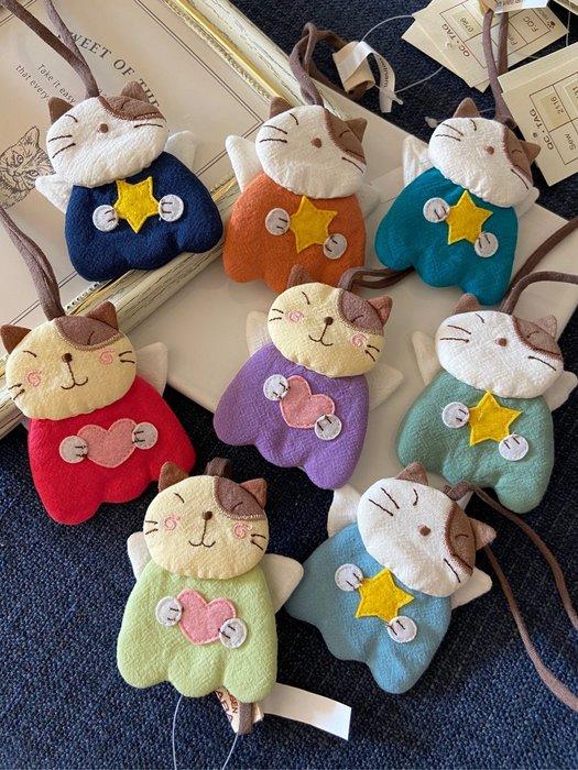 日本卡拉貓~天使GonPon醬吊飾