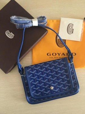 凱莉代購 GOYARD 新款三層斜背包 寶藍 預購