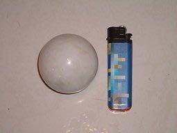 [石頭族]白晶狀晶球體