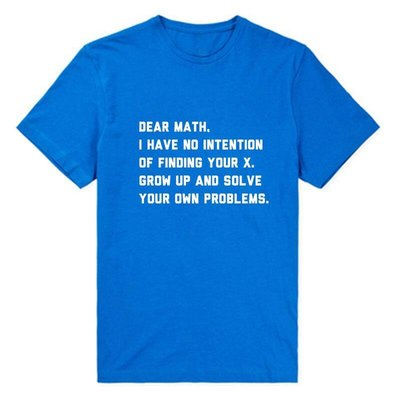 Solve Your Own Problems Math Teacher Science Engineer T恤