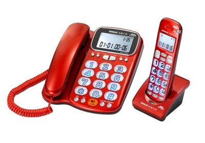 SANYO 三洋 2.4G數位無線子母機電話 DCT-8916