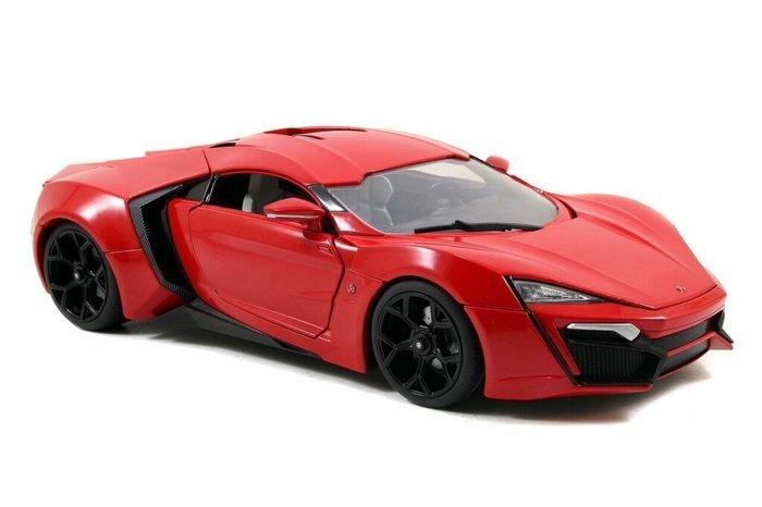 (I LOVE樂多)日本進口 JADA 1/24 lykan hyper sport 玩命關頭 模型車