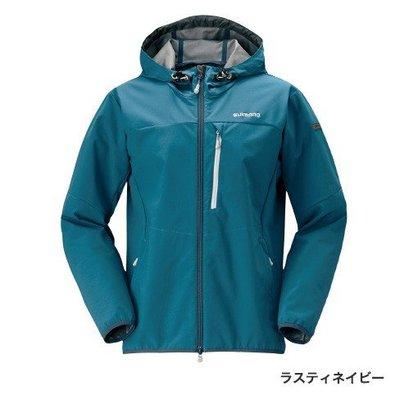 """【新竹民揚】SHIMANO JA-040Q M~XL 彈性三層連帽夾克 (""""New藍""""/紅/黑)"""