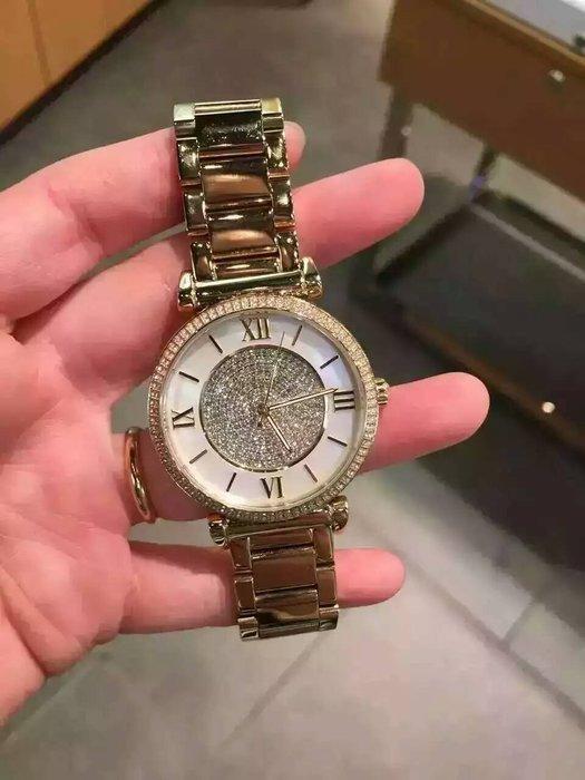 【Michael Kors代購館 】美國正品MK3332 防水手錶 光燦耀眼晶鑽女錶 不鏽鋼錶帶石英腕錶 促銷活動價