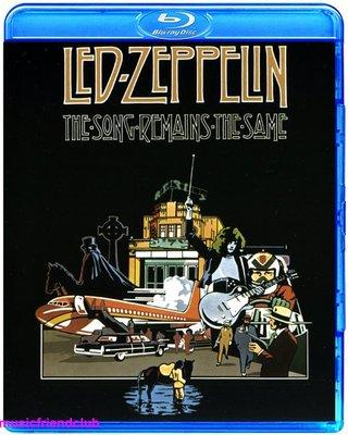 高清藍光碟 齊柏林飛船Led Zeppelin Song Remains The Same Live (藍光BD50)