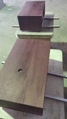 經典銘器 Marantz 7 7c 7t 專用復刻木盒樺木夾板黑胡桃的實木皮原樣製作錯過不再只限量2組