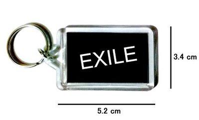 〈可來圖訂做-鑰匙圈〉EXILE 放浪兄弟 壓克力雙面鑰匙圈 (可當吊飾)