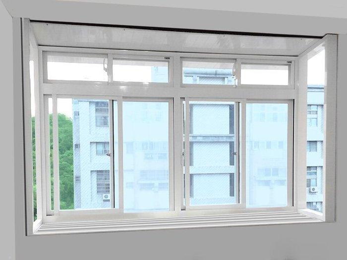 JW-018 雨遮氣密凸窗,隔音窗 氣密窗 鋁窗 店面門 鐵扶手 乾濕分離 泥作 拆除 設計裝修 原廠 正新