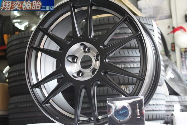 新款 雅泛迪 Advanti MAT09 17吋 旋壓鑄造鋁圈 5X108 5X114 平光黑 亮銀