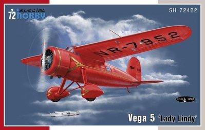 Special Hobby 72422 1/72 Vega 5 'Lady Lindy'Amelia Earhart
