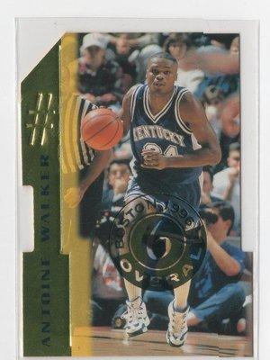1996 Score Board Rookies Die Cuts #6 Antoine Walker NBA 球員卡