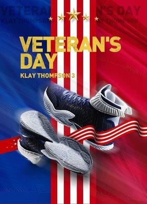 全新真品 安踏 KT3 金州勇士 Klay Thompson 御用 軍人節限定 US7891011