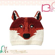 【B& G童裝】正品美國進口GAP Intarsia fox hat 狐狸圖樣毛帽12-18mos