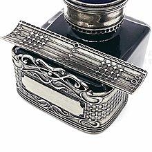 =小品雅集= 義大利 Bortoletti CAL60 Inkwell 白銅 鋼筆用黑色 墨水瓶