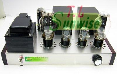 NO:S009 現貨供應 手工搭棚 5U4GB+6SN7+300B 擴大機 A類 7W+7W 成品機 採用美國整流管