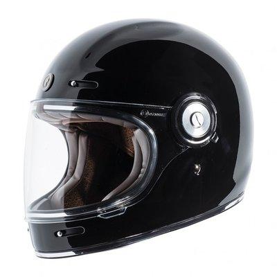 【魔速安全帽】2018 新款 美國 TORC T1 GLOSS BLACK 復古帽 樂高帽 全罩 安全帽 亮黑 消光