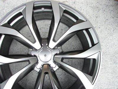 ~三重長鑫車業~最新 AUDI A6 SPORT 式樣 灰底車亮面 5孔 112 19吋鋁圈 VW PASSAT PHAETON A4 A8