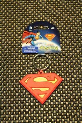 (I LOVE樂多)日本進口DC 超人軟膠立體鑰匙圈 SUPERMAN 送禮自用兩相宜