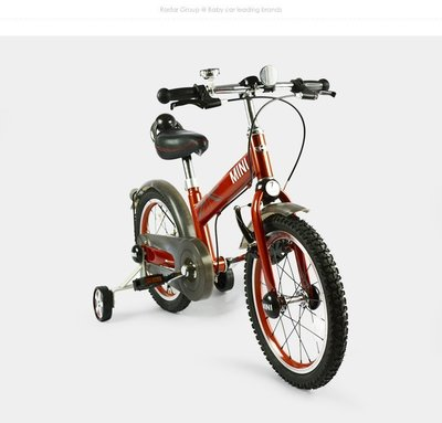 ☆ 恩祐小舖-兒童MINI COOPER原廠授權兒童16吋腳踏車[型號RSZ1601 @ 【嬰兒系列】