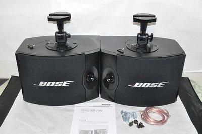 【比比昂.BOSE喇叭】BOSE 301V ボーズ スピーカー シリアル連番 エッジ新品交換済 純正ブラケッ