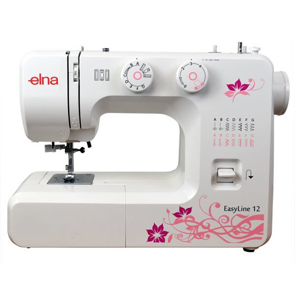 【你敢問我敢賣!】elna Easy Line 12 縫紉機 全新公司貨 可議價『請看關於我,來電享有勁爆價』