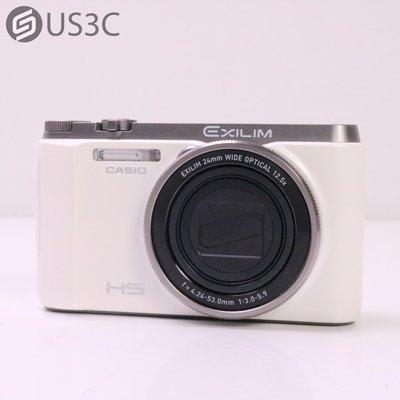 【US3C-台中店】【一元起標】公司貨 Casio EXILIM EX-ZR1200 12.5倍光學變焦 5軸鏡頭防震 1610萬像素 二手相機 台中市