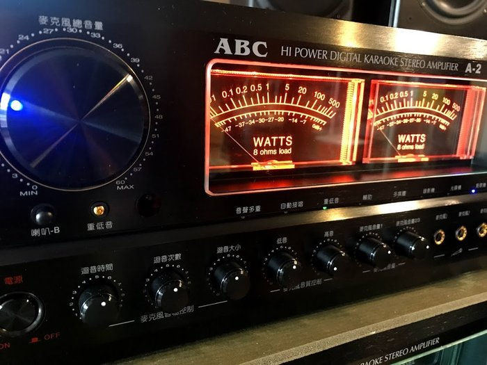 2018年新機上市台灣製造唱歌聲音再進化最優美ABC卡拉OK專業A-2ll擴大機300瓦大功率採用歐美零組件超好唱機種