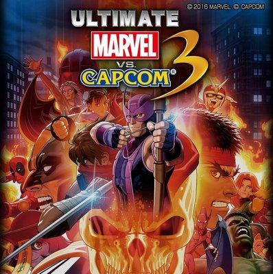 【二手遊戲】PS3 漫威英雄大戰卡普空3 Marvel VS.Capcom 3 英文 日文版【台中恐龍電玩】