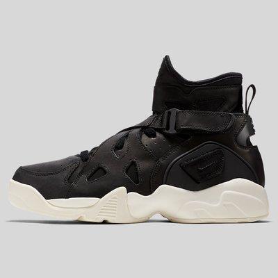 R代購 NIKE AIR UNLIMITED 黑皮革 NikeLab 牛巴戈皮 854318-003 Robinson