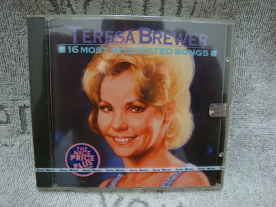 11  TERESA BREWER 16 MOST REQUESTED SONGS CBS