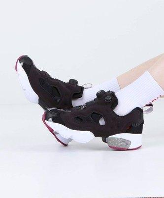 【吉米.tw】REEBOK INSTAPUMP FURY OG 黑白紫 復古充氣  蜂巢氣墊 女鞋 EF3144 SEP