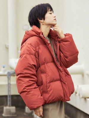 【預購】日本連線Ungrid冬19新入荷ボリュームショートダウン定番保暖羽絨70%羽毛30%連帽可拆外套夾克BEAMS