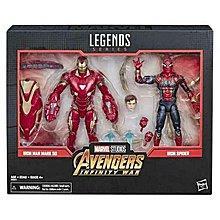 Marvel Legends 80 Years Avengers Infinity War Iron-Man & Iron Spider Exclusive