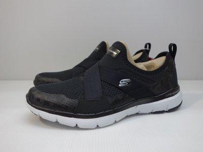 =小綿羊= SKECHERS FLEX APPEAL 3.0 黑 13079WBKW 女生 休閒鞋 襪套式 免綁鞋帶