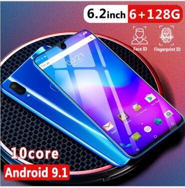 現貨低價X23 6.2寸水滴屏手機 2+32G智慧手機 指紋一體機手機#11274