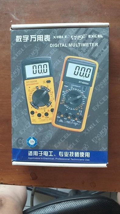 易賽優DT-9208A最新型號最多用途電表made in china