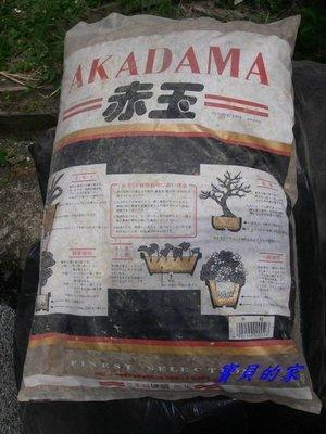 ~寶貝の家~日本進口二本線硬質赤玉土~盆栽最基本的用土~目前最硬也是品質最優的赤玉土
