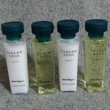 Ferragamo 費拉格慕 Tuscan Soul CONVIVIO 4件沐浴清潔旅行組