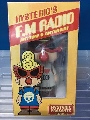 絕版 全新未開封 Hysteric Mini 收音機 (白色)