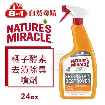 *WANG*8in1自然奇蹟 橘子酵素去漬除臭噴劑24oz·環境清潔 除臭·犬用 新北市