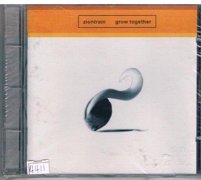 [鑫隆音樂]西洋CD-grow together /ziontrain grow together /全新/免競標