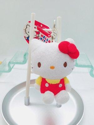 日本三麗鷗 HELLO KITTY螢幕擦公仔鑰匙圈吊飾