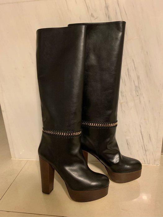 STELLA MCCARTNEY 厚底 高跟 長靴 38號